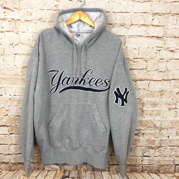 outlet store bad25 ce698 New York Yankees hoodie men XL stitched sweatshirt